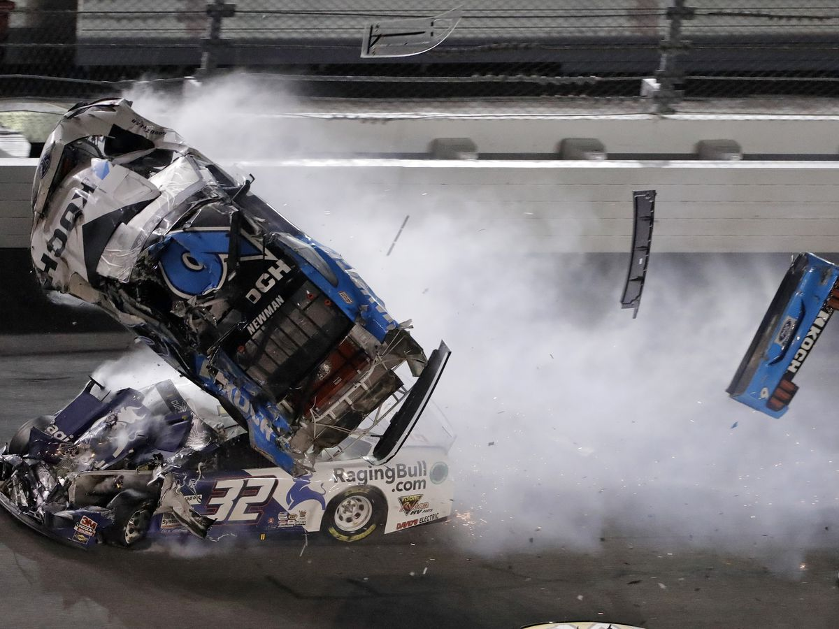 NASCAR: Ryan Newman survives stunning crash at Daytona 500
