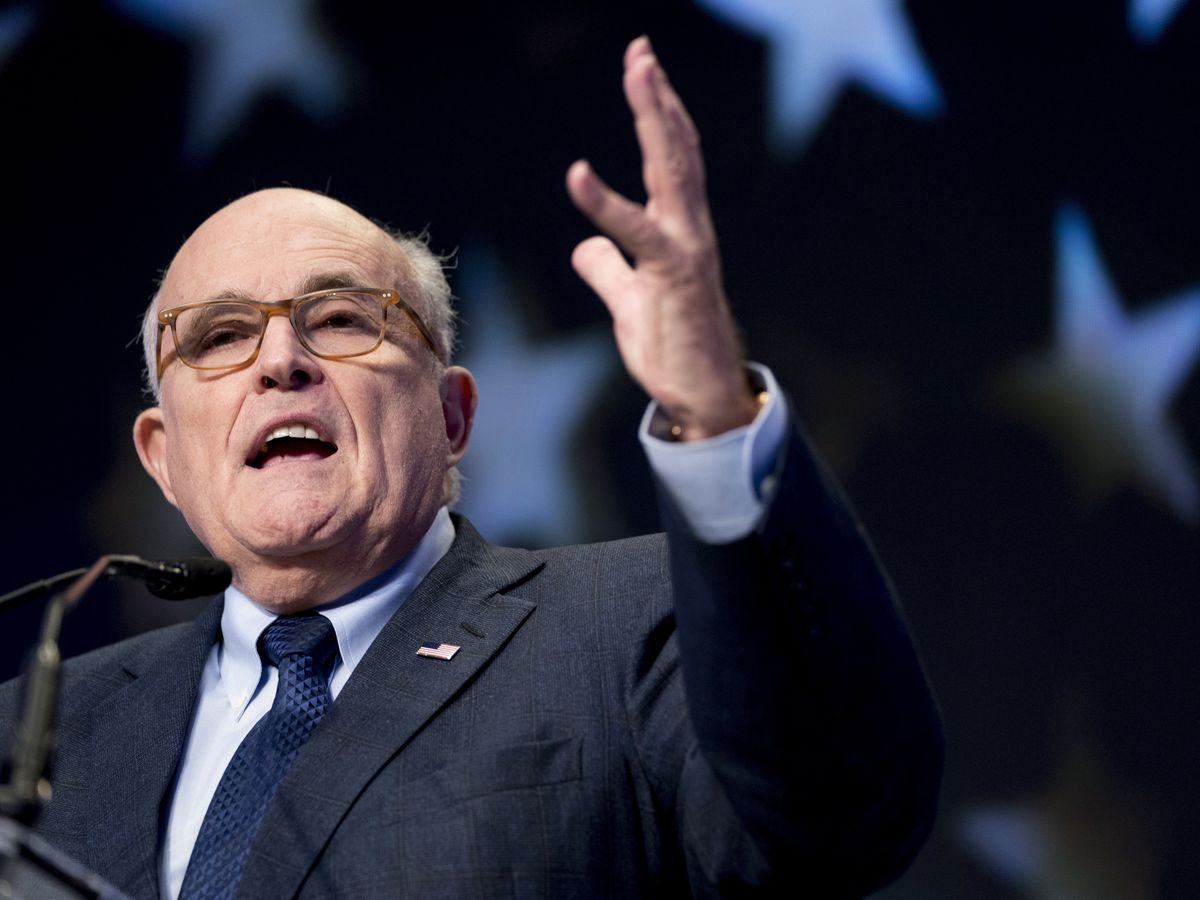 Giuliani caught in hotel bedroom scene in new 'Borat' film