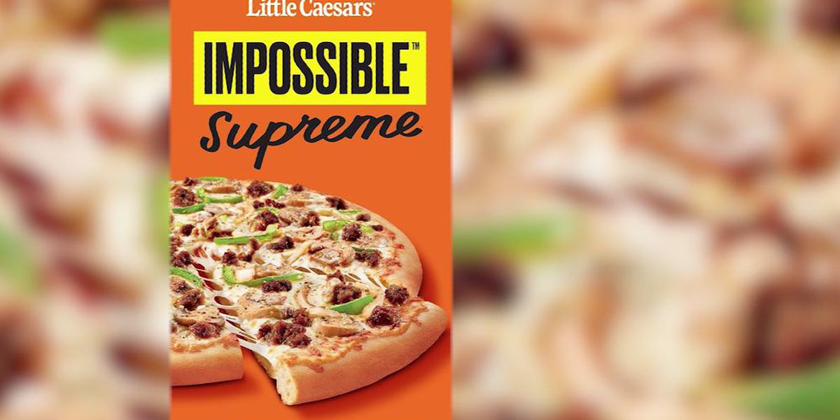 Little Caesars to test 'Impossible' pizza