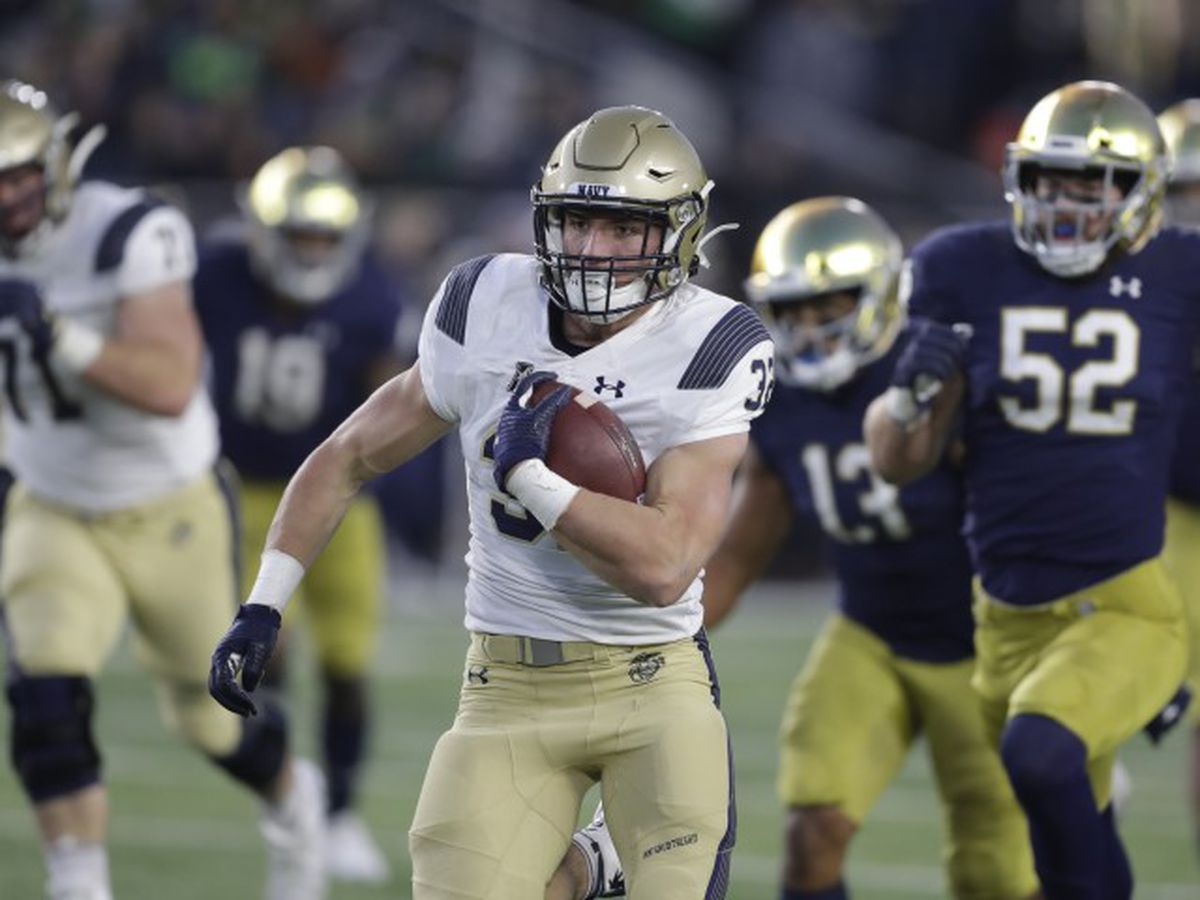 Notre Dame, Navy won't play season opener in Ireland
