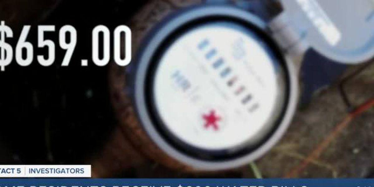 Delray Beach residents receive $600 water bills