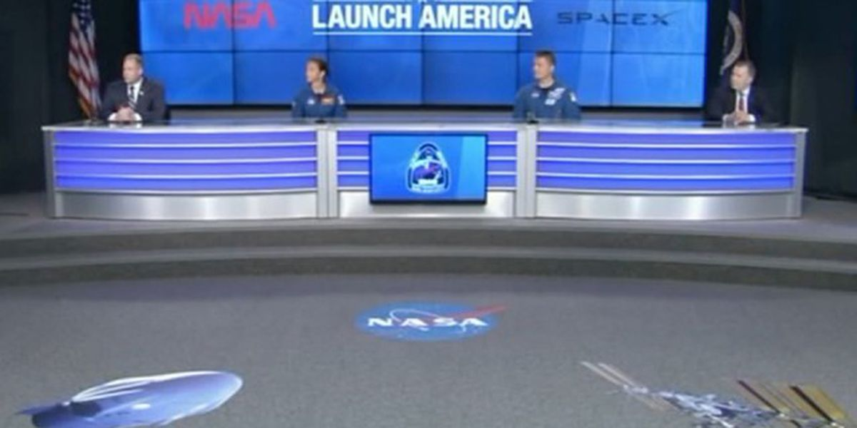 NASA ready for lift off ahead of SpaceX astronaut launch