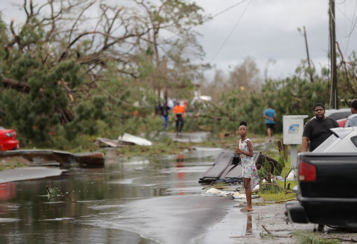Tropical Storm Michael Hits North Carolina With Floods And