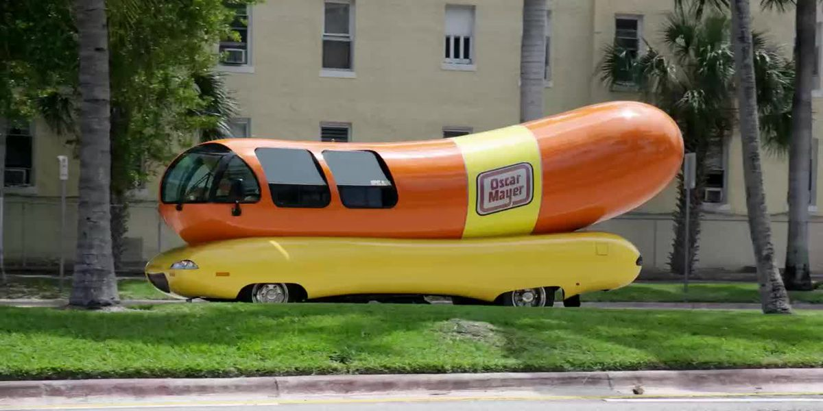 You can spend a night in Oscar Mayer's 'Wienermobile' this summer
