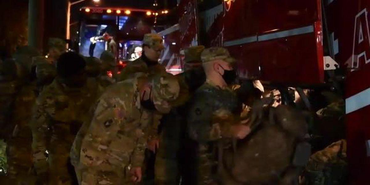 600 Florida National Guard troops head to Washington, D.C.
