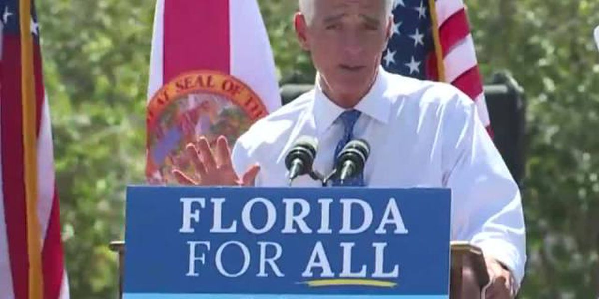 Charlie Crist says he's running for governor in 2022