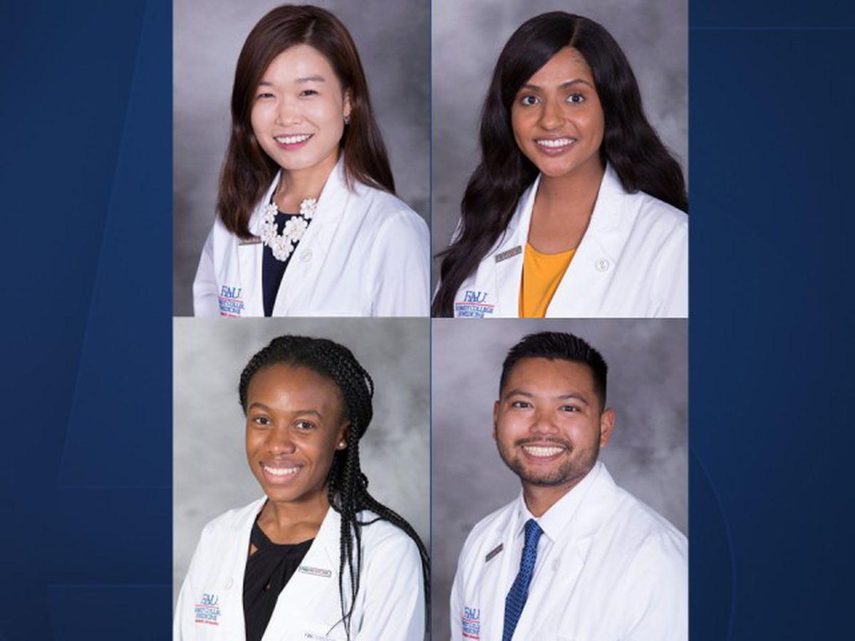 FAU medical students awarded scholarships