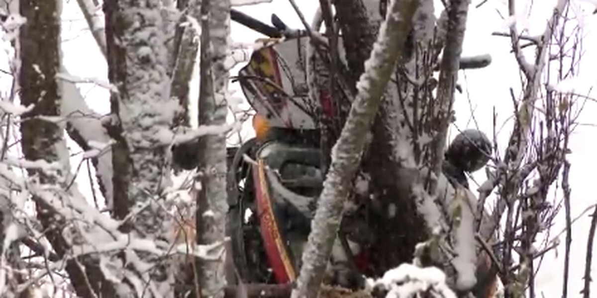 Man dies after snowmobile crashes into tree in N.Y.