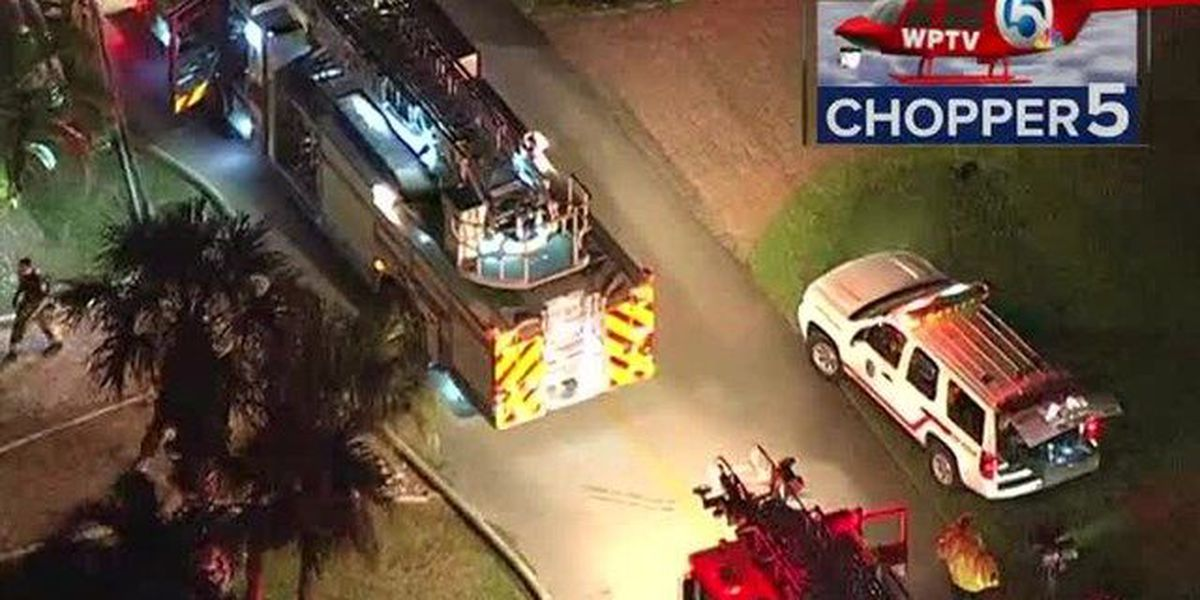 Fire overnight at Stuart Yacht and Country Club