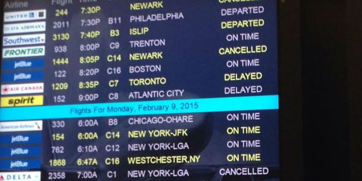 Holiday travelers affected by weather