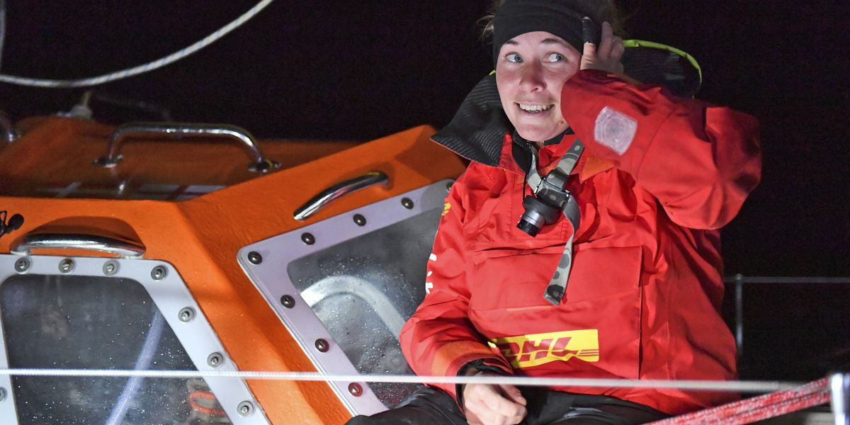 The Latest: Ship rescues British sailor in Southern Ocean