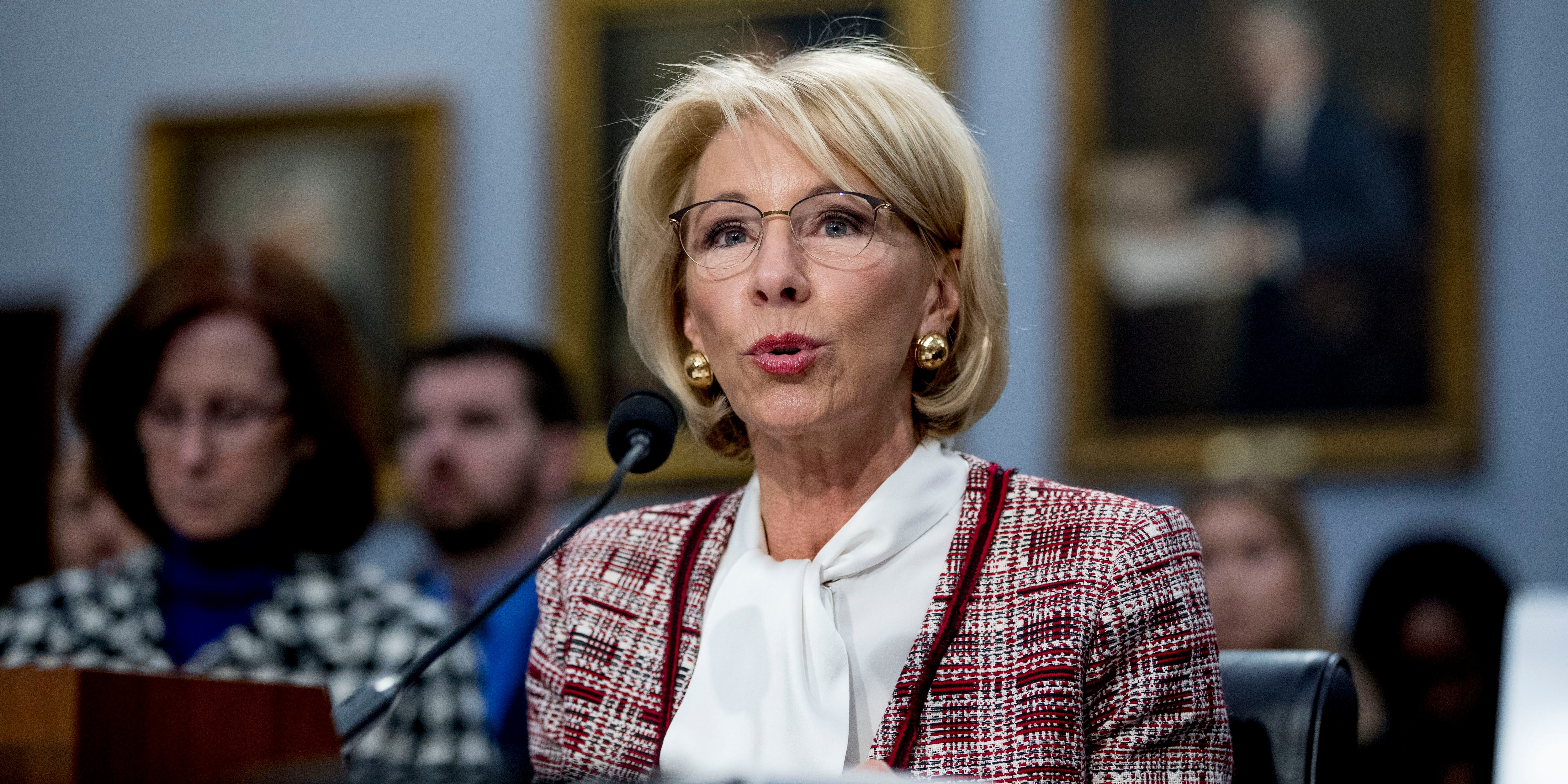 Special Olympics cuts come under fire as DeVos faces budget questions