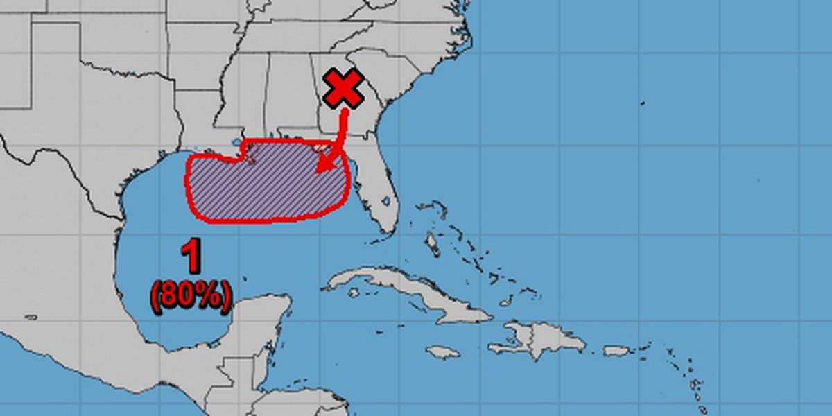 Tropical depression likely to form in Gulf of Mexico this week