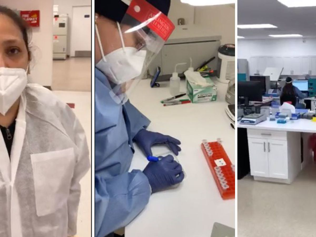 Behind the scenes: Rapid coronavirus testing near West Palm