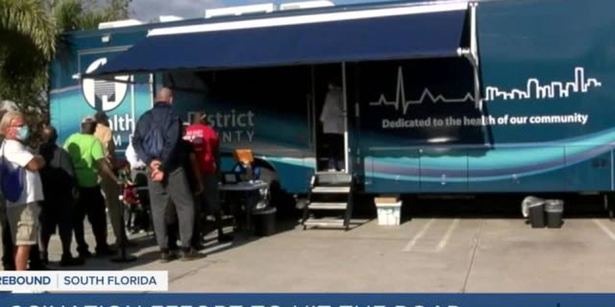 Palm Beach County prepares to rollout 3 mobile vaccine units
