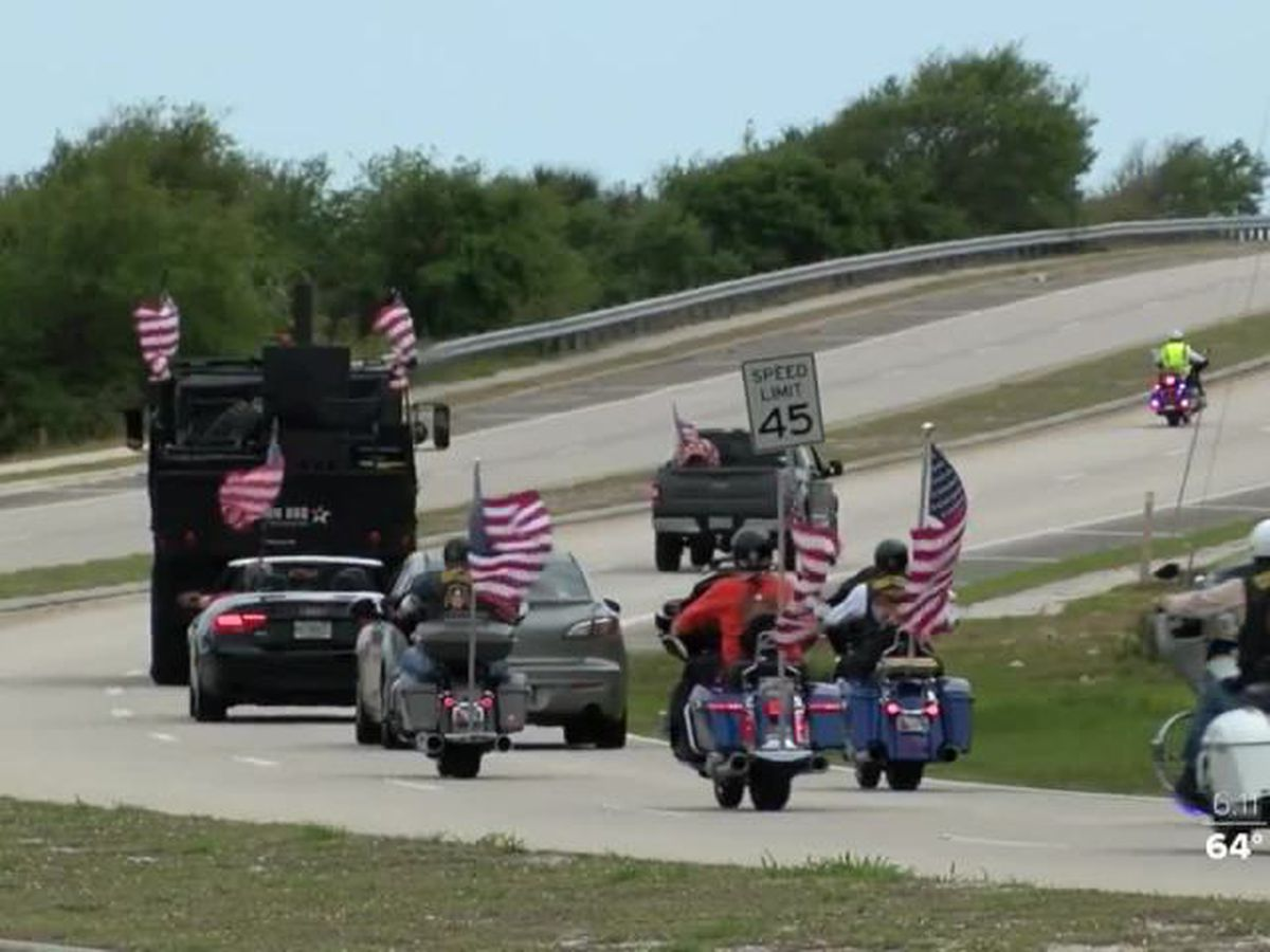 Honor Flight parade held for South Florida veterans