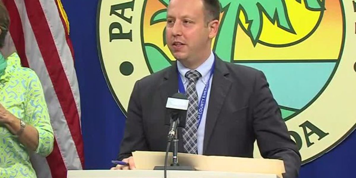 Palm Beach County officials to give COVID-19 update