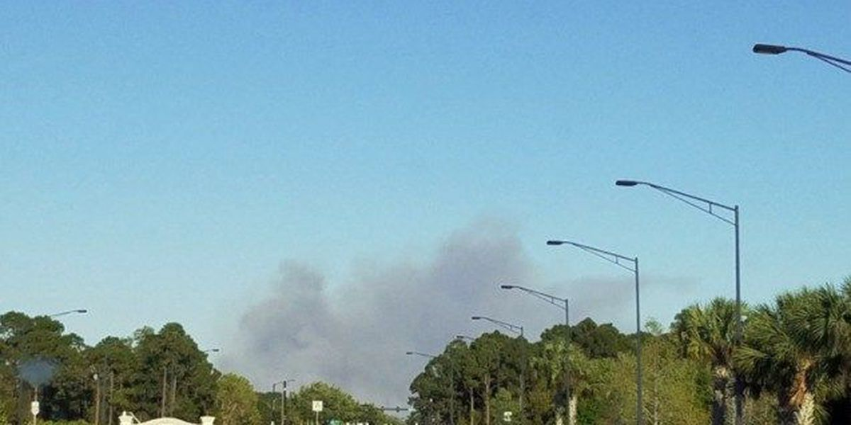 Fire crews battling wildfires in St. Lucie Co.