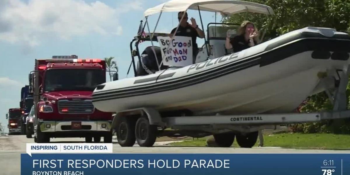 First responders parade held in Boynton Beach