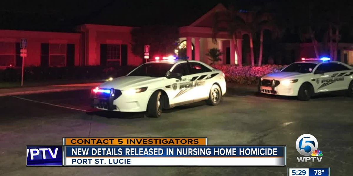 New details released in Port St. Lucie nursing home homicide