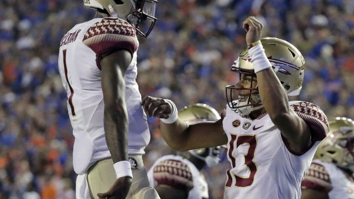 West Palm Beach QB helps Seminoles hold off No. 5 UNC