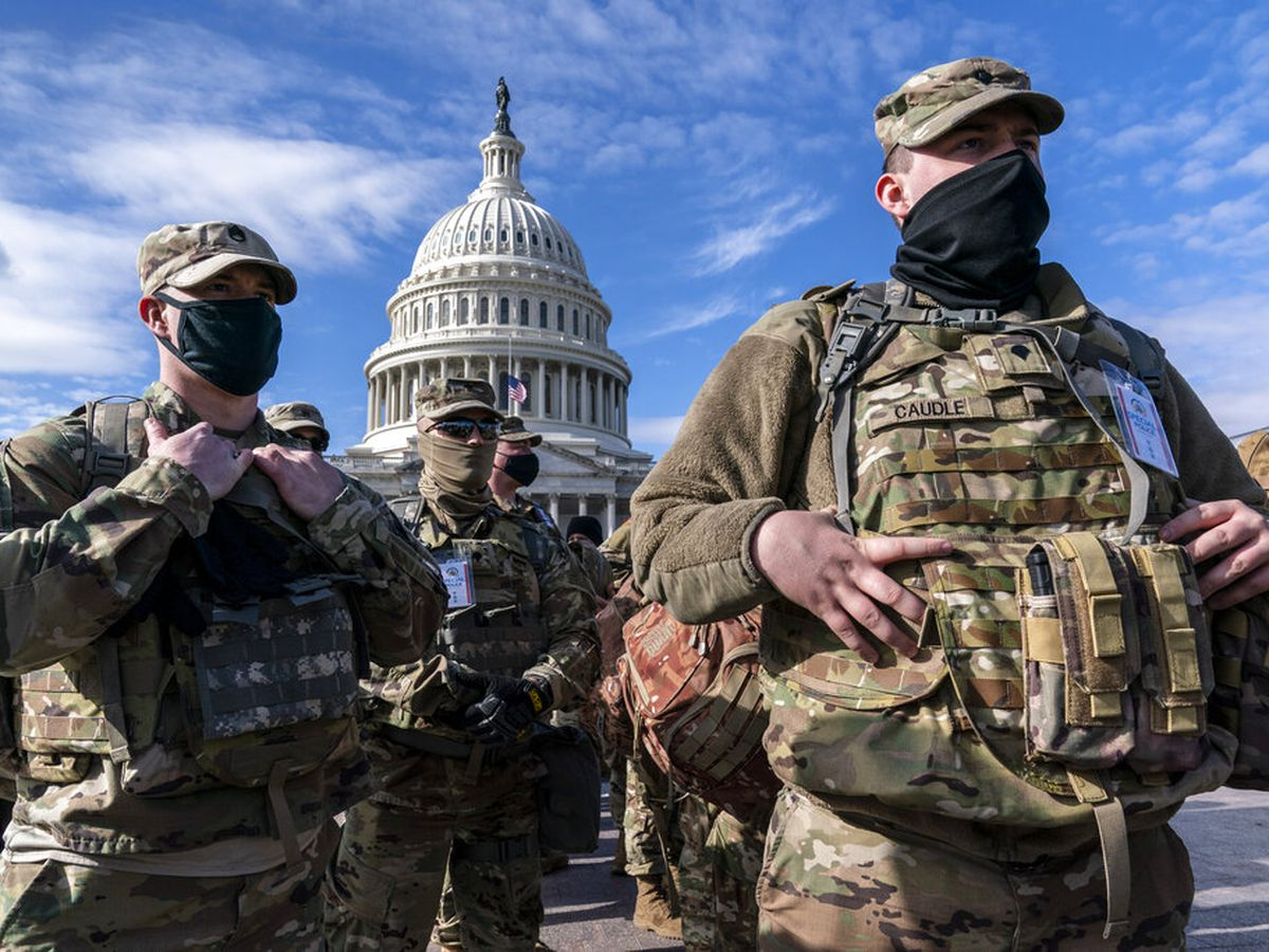 Guard troops head home after helping secure Biden inaugural