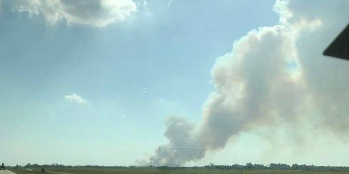 Two large brush fires on the Treasure Coast