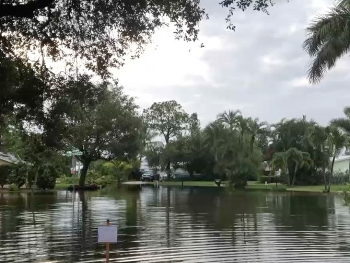 Heavy rain floods Hobe Sound