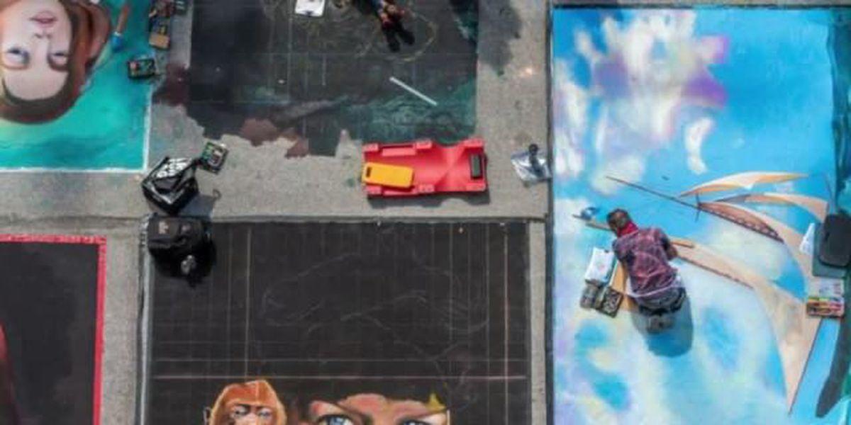Lake Worth Street Painting Festival utilizes social media