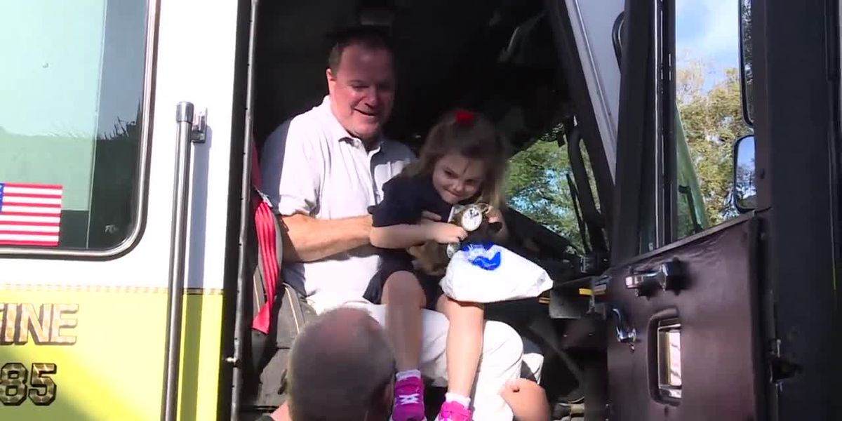 Tequesta girl becomes firefighter for a day