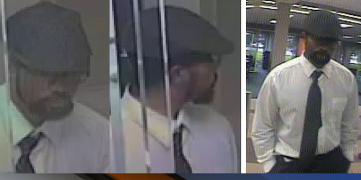 Well-dressed bank robbery suspect sought in Jupiter