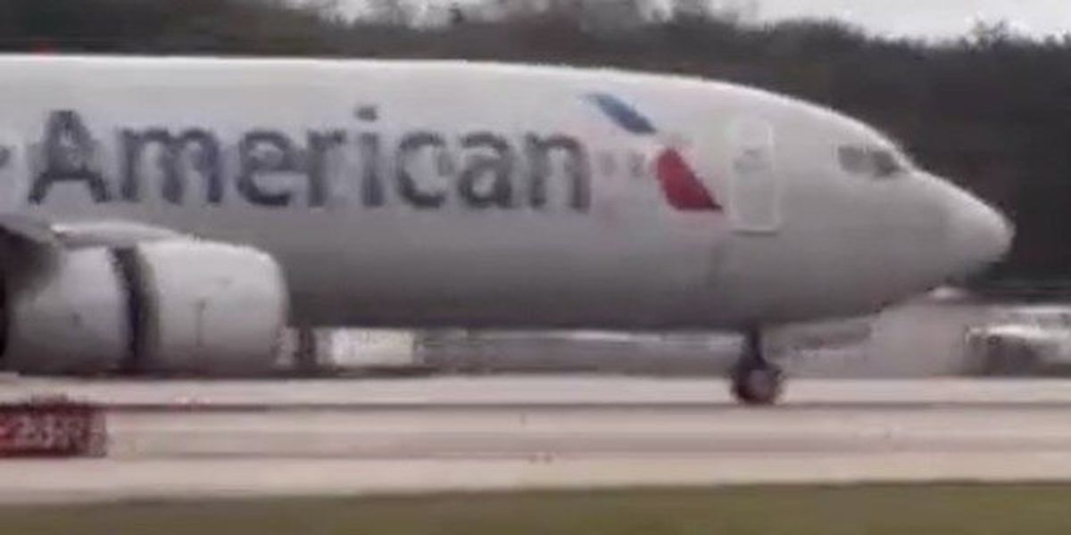 Flight from Miami diverted to PBIA