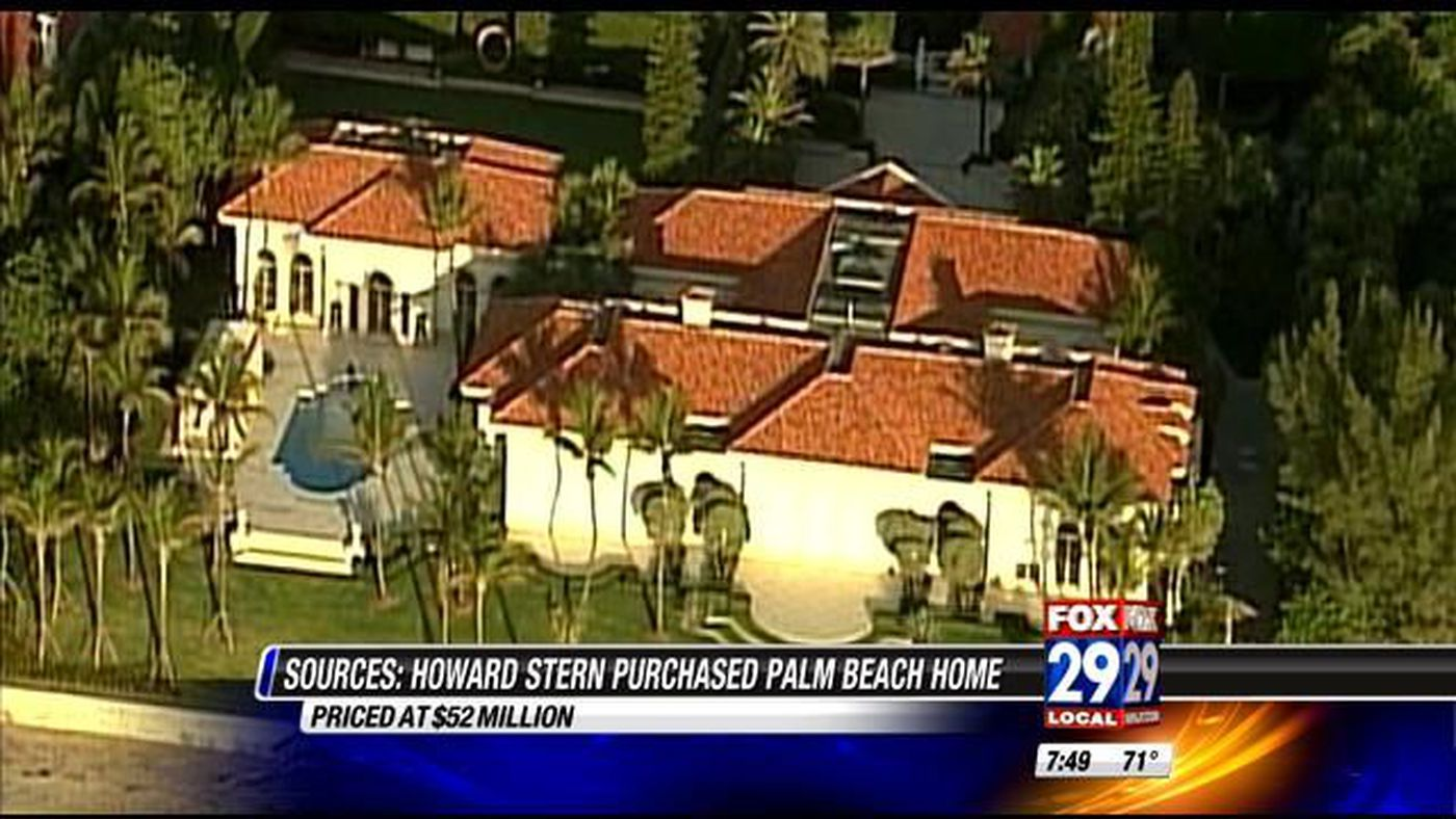 Howard Stern reportedly buys Palm Beach mansion