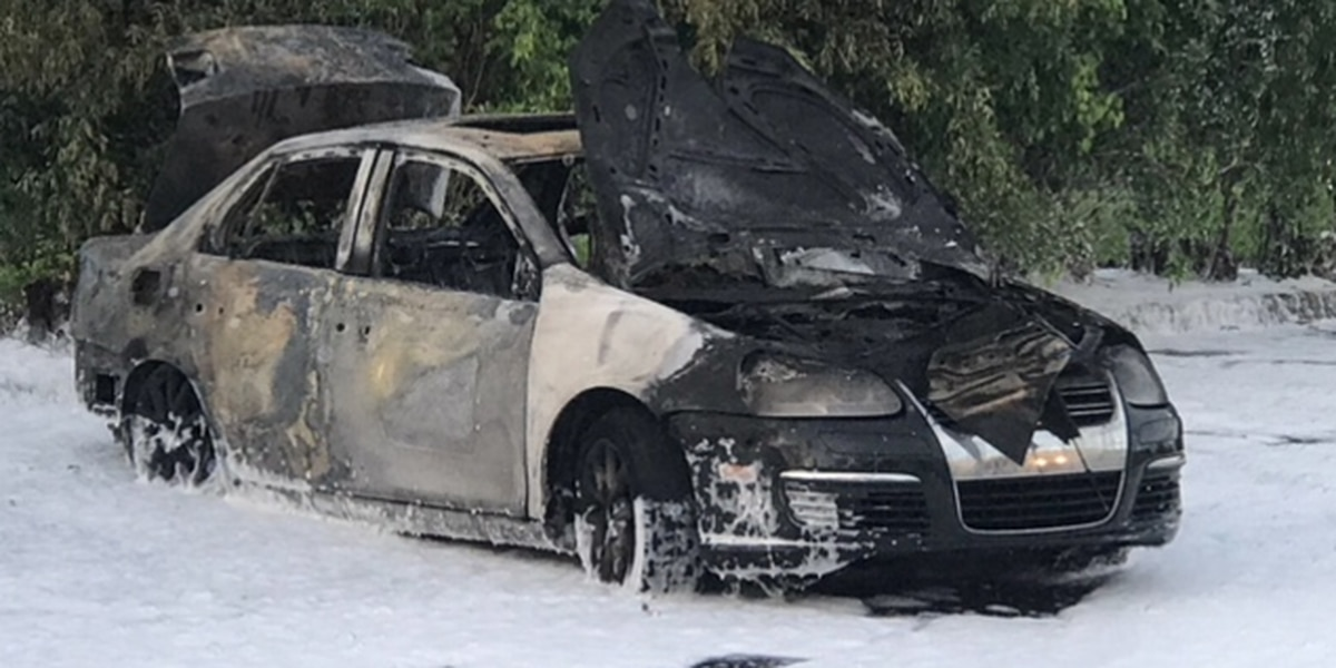 Car used in West Palm shooting found torched