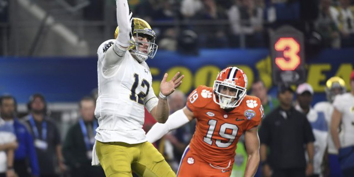 Clemson-Notre Dame will be battle of top 5, undefeated teams