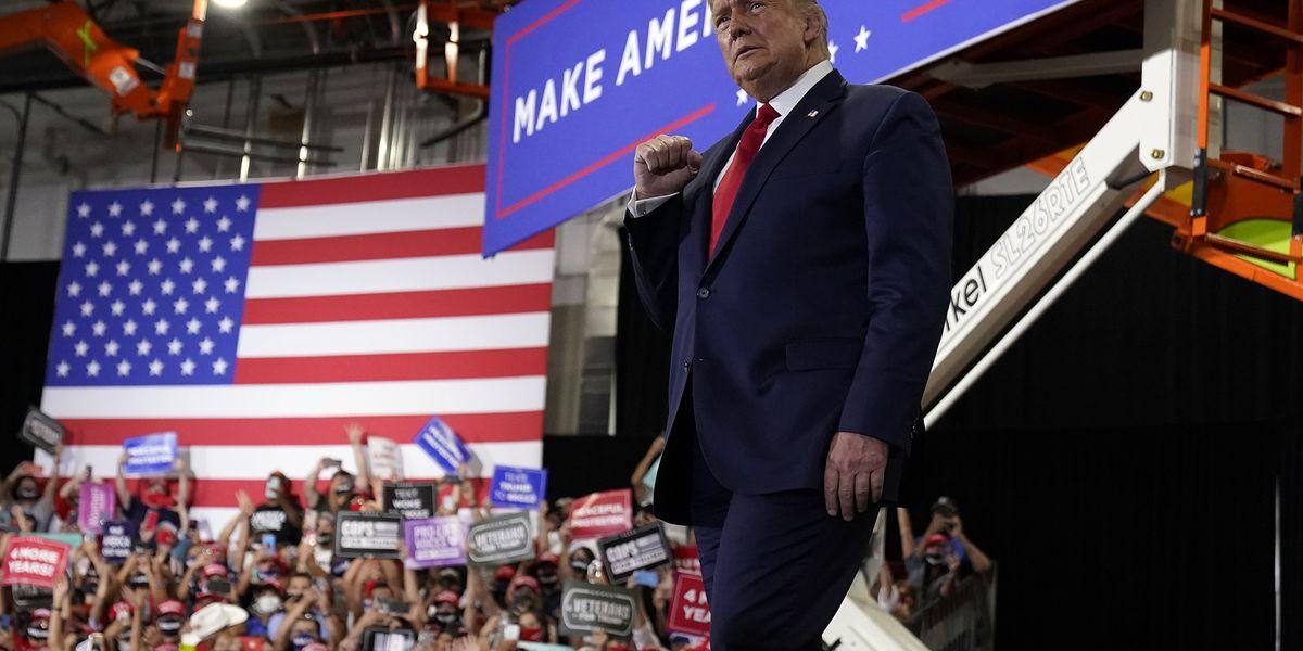 Trump and Biden hit unlikely battleground state of Minnesota