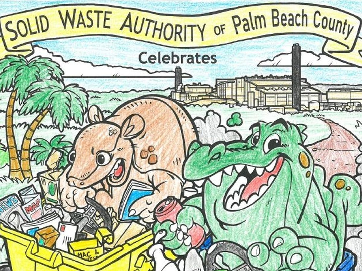 Solid Waste Authority Coloring Contest