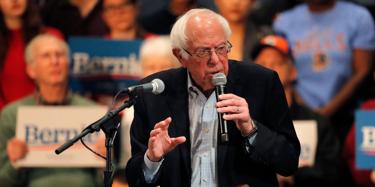 Sanders condemns Russian influence in election