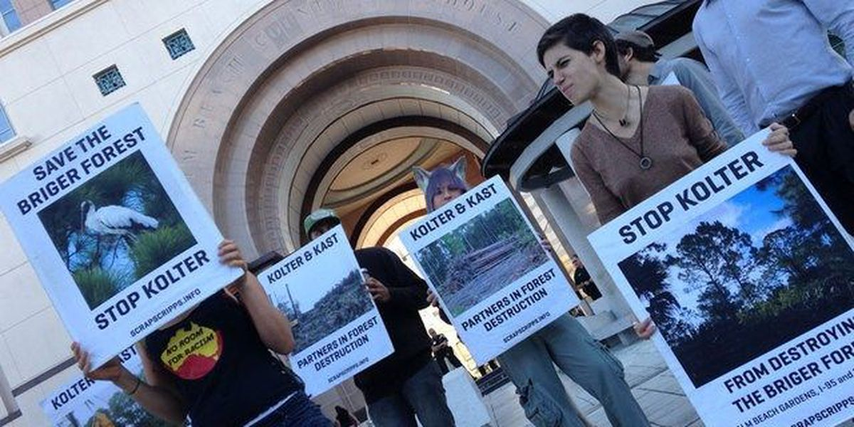 3 due in court for 2014 Palm Beach Gardens protest