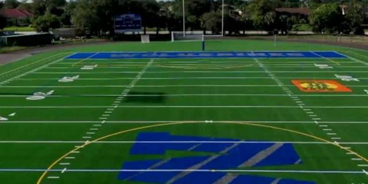 Wellington High School Sports Complex upgraded