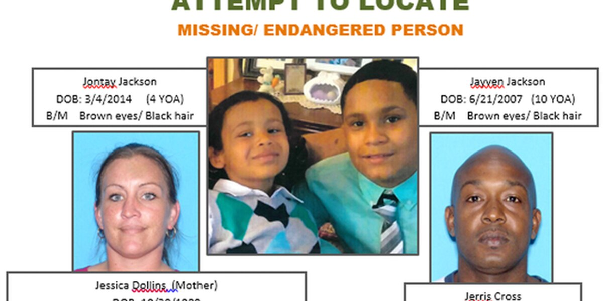 Sheriff's office trying to locate two juveniles