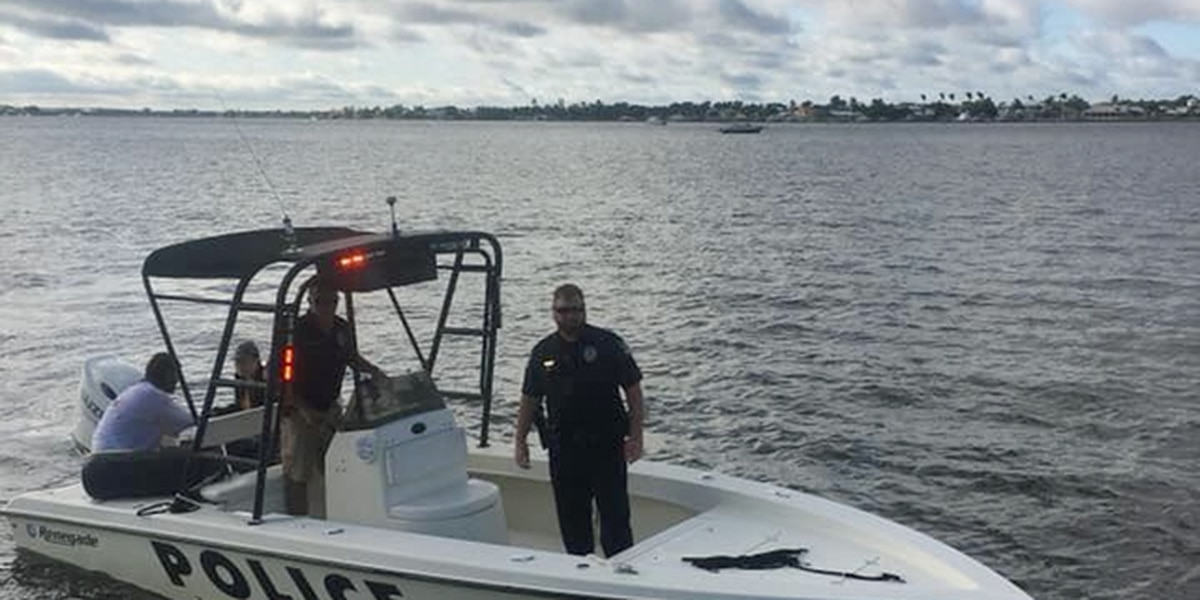 Police: Stuart officers rescue couple from water