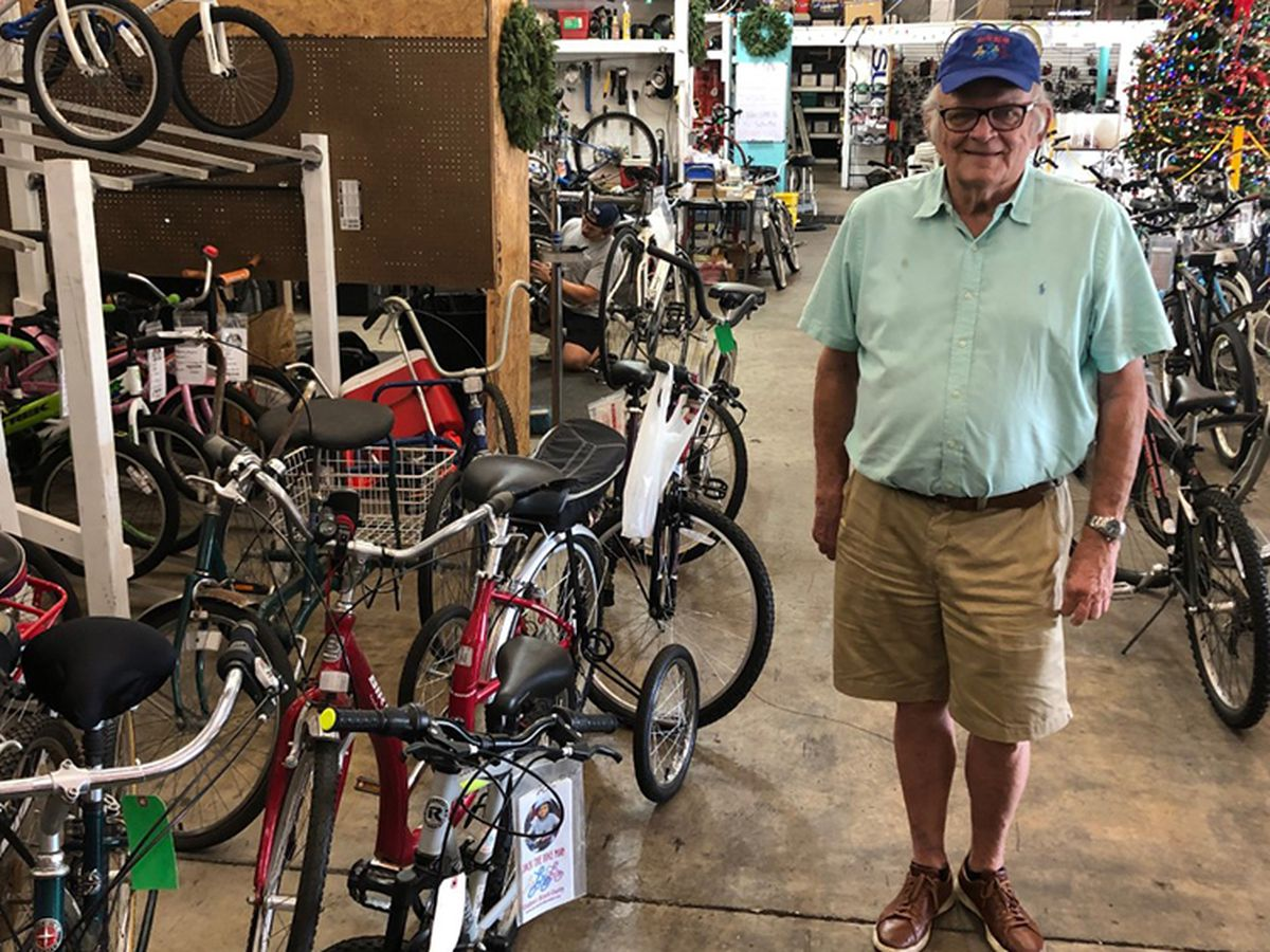 'Jack The Bike Man' spreads joy this holiday season