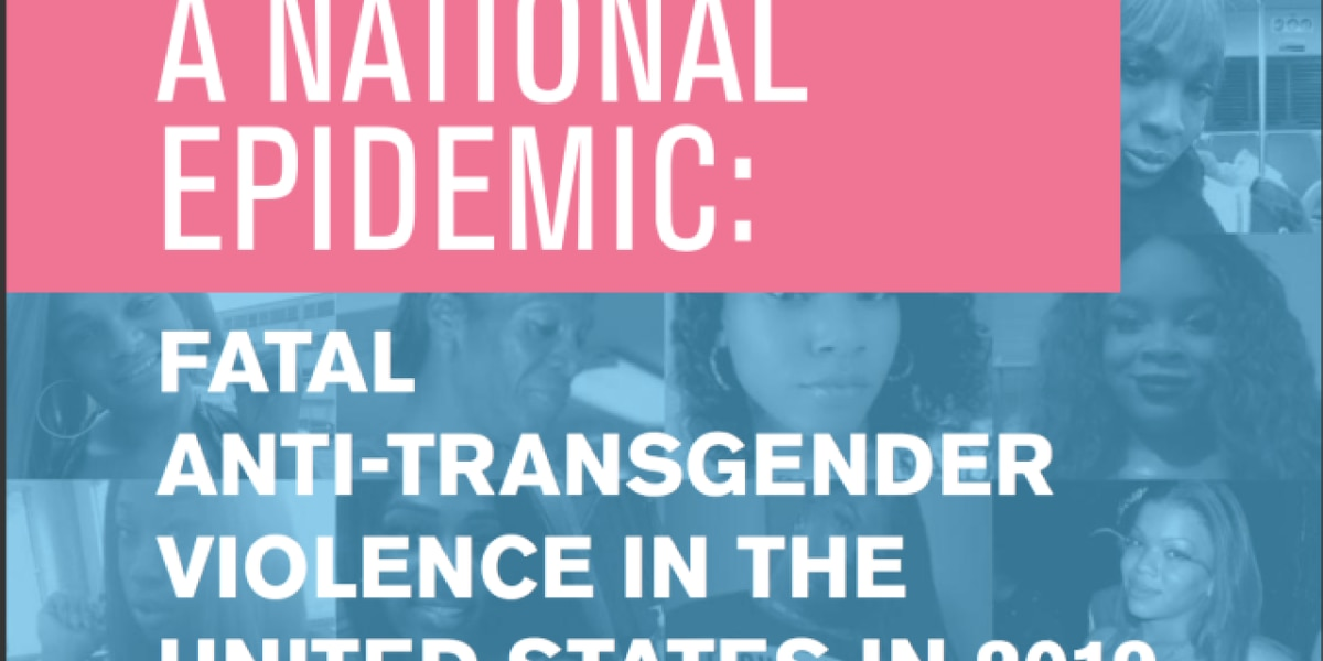 Report ties Florida and Texas for most fatal anti-trans violence