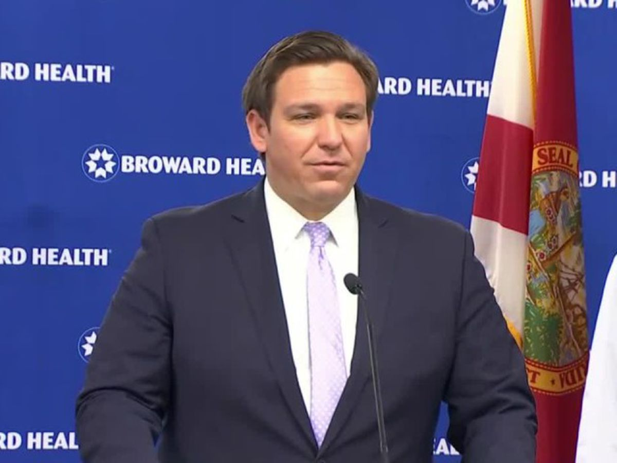 Florida governor calls some coronavirus test results 'useless'