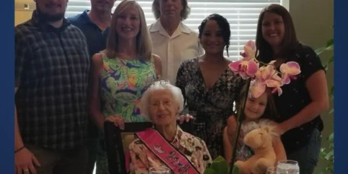 Palm Beach Gardens celebrates her 107th birthday