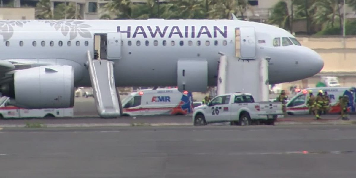 Hawaiian Air: Engine problem caused smoke to fill plane, forcing emergency landing