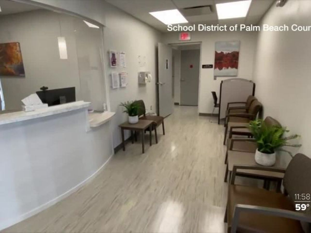 Palm Beach County schools open medical clinic for employees