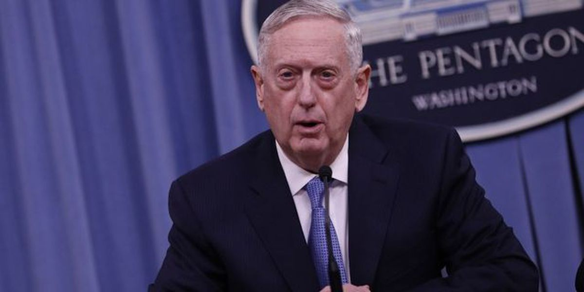 Mattis says Syria taking US threat seriously