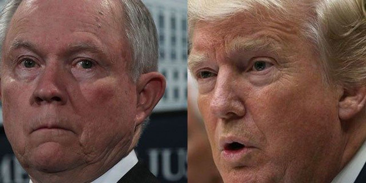 Trump denounces AG Jeff Sessions over recusal